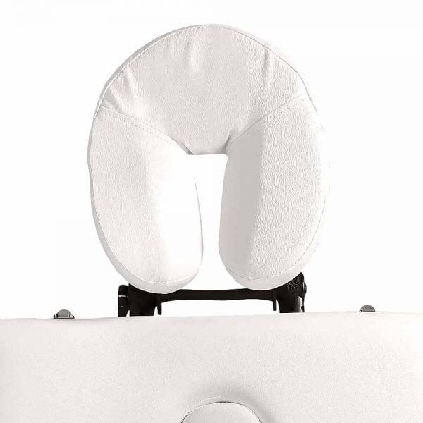 Mobilne łóżko do masażu - zagłówek