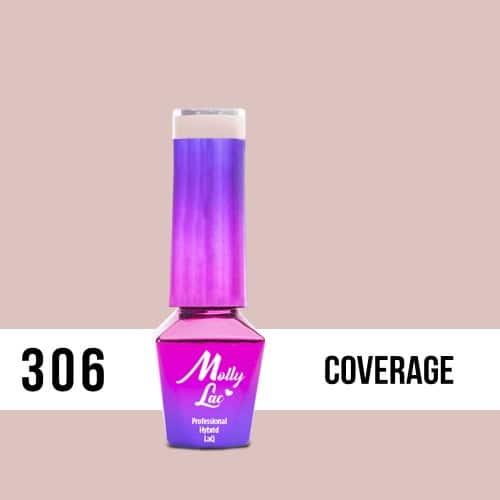 LAKIER MOLLY LAC SKIN&MAKE UP Coverage 5ml nr 306
