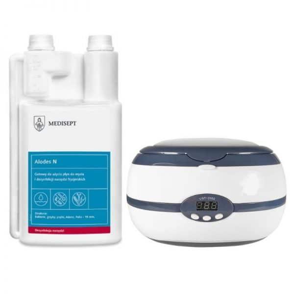 Zestaw z myjką ultradźwiękową