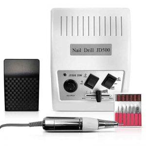 Frezarka kosmetyczna 35 W White JD500