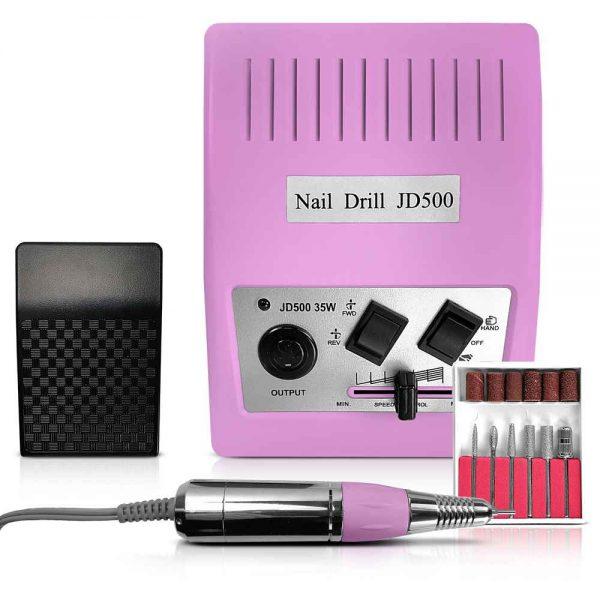 Frezarka kosmetyczna 35 W Pink JD500