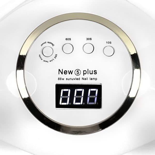 Zestaw do paznokci - lampa UV LED 86W + akcesoria