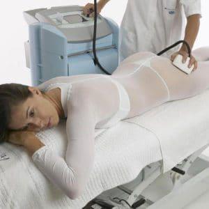 Kombinezon do zabiegu masażu podciśnieniowego XL