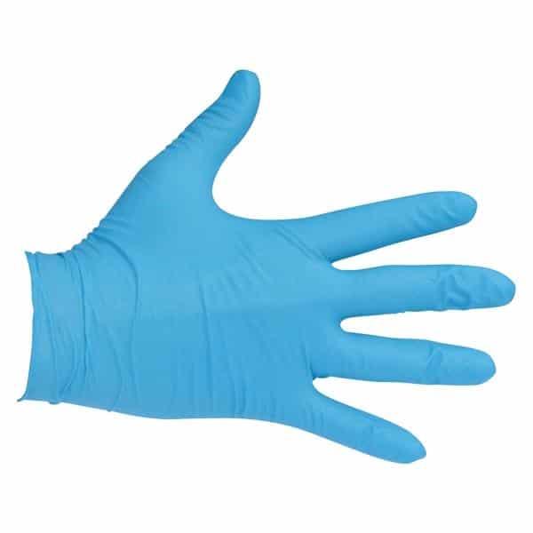 Rękawiczki nitrylowe bezpudrowe rozmiar M 100szt