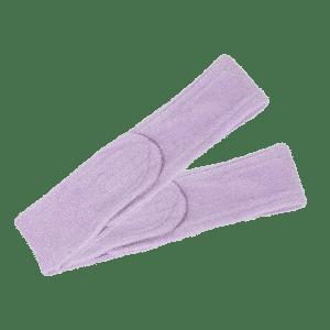 Opaska kosmetyczna frotte wrzosowy 2szt