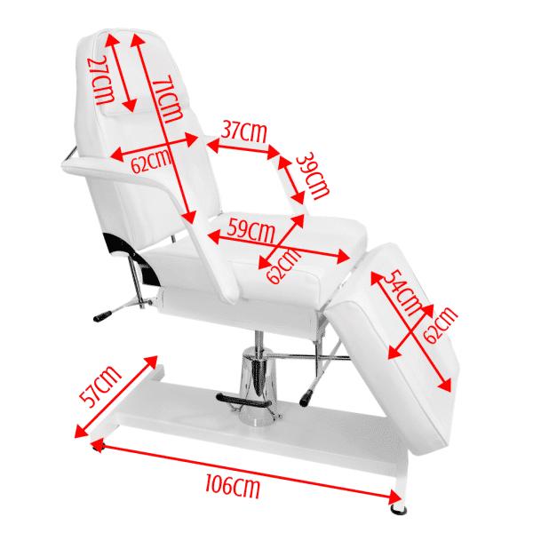 Fotel kosmetyczny hydrauliczny BELLO