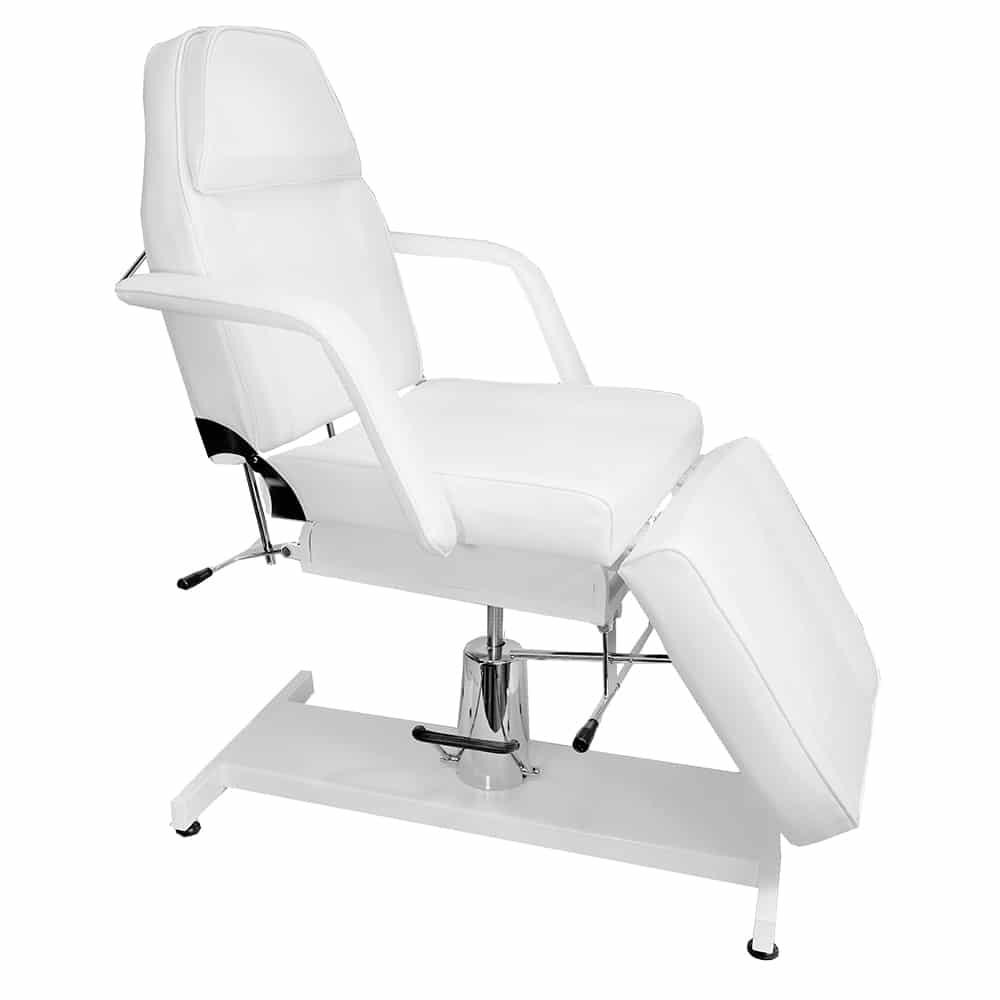 Fotel hydrauliczny + lampa lupa + taboret i stolik kosmetyczny - BELLO
