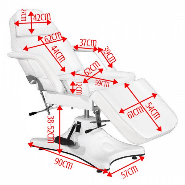 Fotel kosmetyczny hydrauliczny BELLO 2