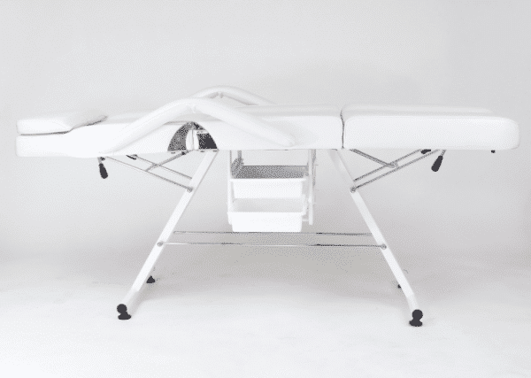 Fotel kosmetyczny manualny PAPILIO z kuwetami