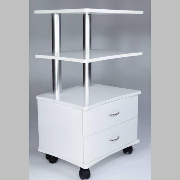 Stolik kosmetyczny APOLLO 3 półki 2 szuflady