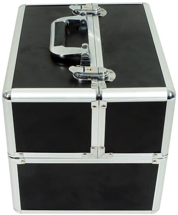 Zestaw kuferek czarny mały + lampa UV