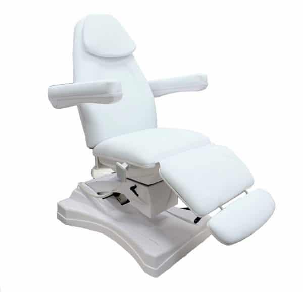 Fotel kosmetyczny elektryczny obrotowy