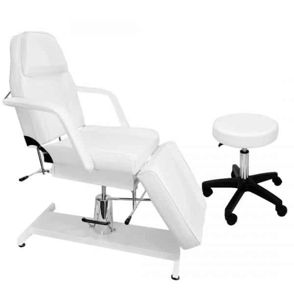 Fotel hydrauliczny + taboret bez oparcia - BELLO