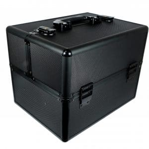 Kuferek kosmetyczny mały super black