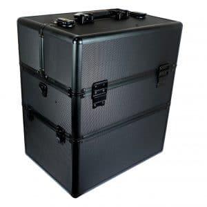 Kuferek kosmetyczny duży super black