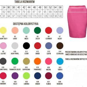 Spódnica kosmetyczna
